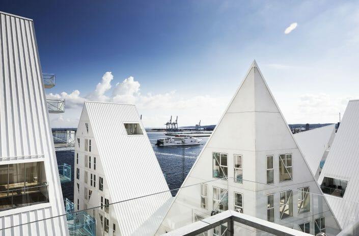 Arkitektur fotografering, Isbjerget Århus © Fotograf Ida Schmidt