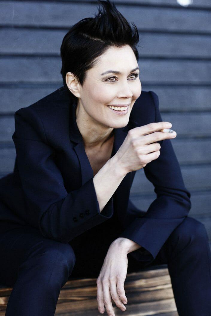 Portrætfoto af skuespiller Nukaka Coster-Waldau, Alt for Damerne ©fotograf Ida Schmidt