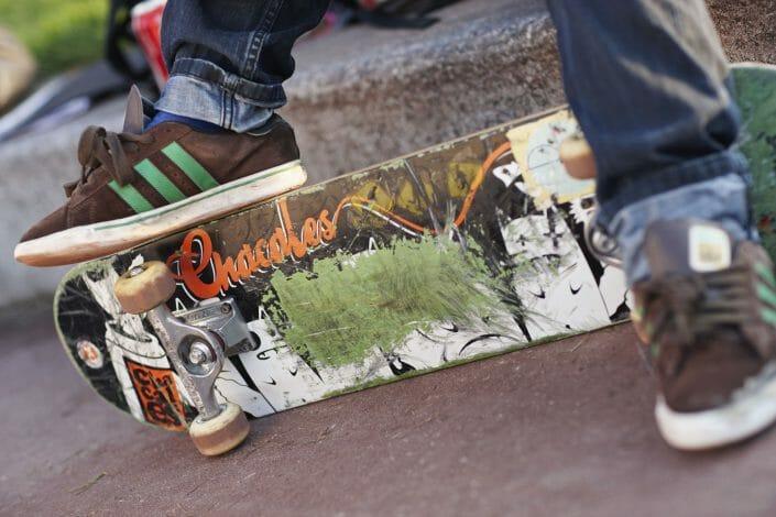 Fotografering til billedbank, skateboard ©fotograf Ida Schmidt