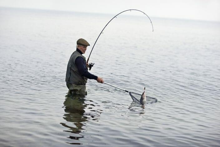 Livsstilsfotografering til billedbank, lystfisker ©foto Ida Schmidt