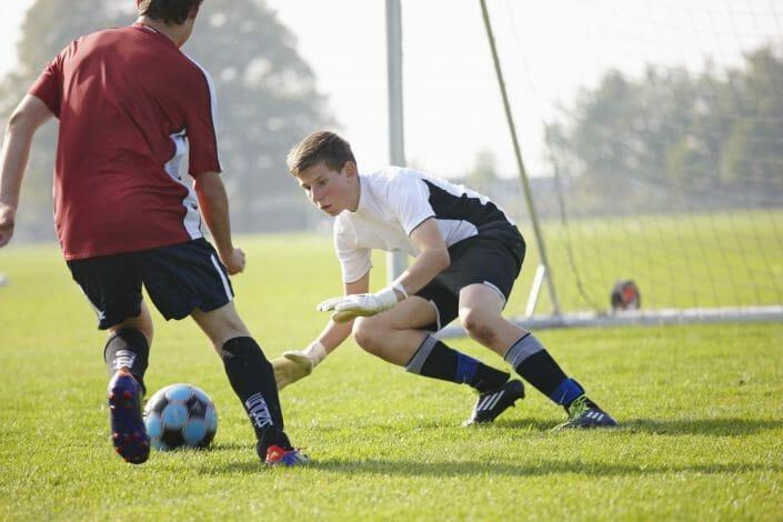 Fotografering til billedbank, fodboldspiller © Fotorgafering Ida Schmidt