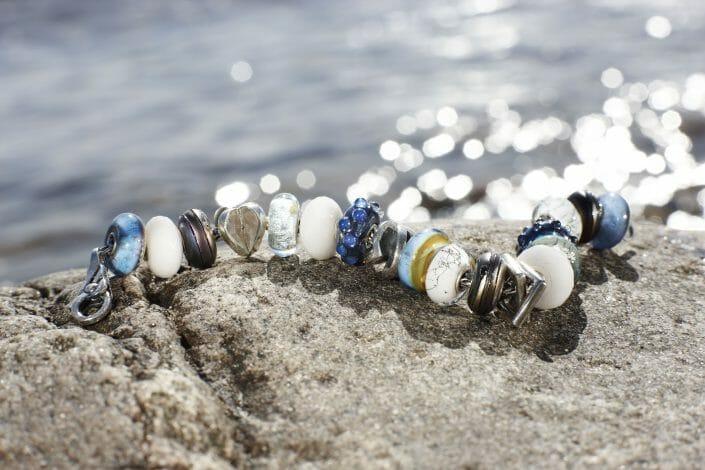 Fotografering af smykker, Trollbeads © fotograf Ida Schmidt