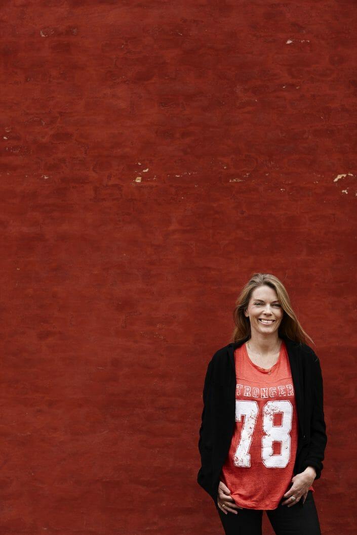Portræt til Alt For Damerne, forfatter Julie Hastrup ©fotograf Ida Schmidt
