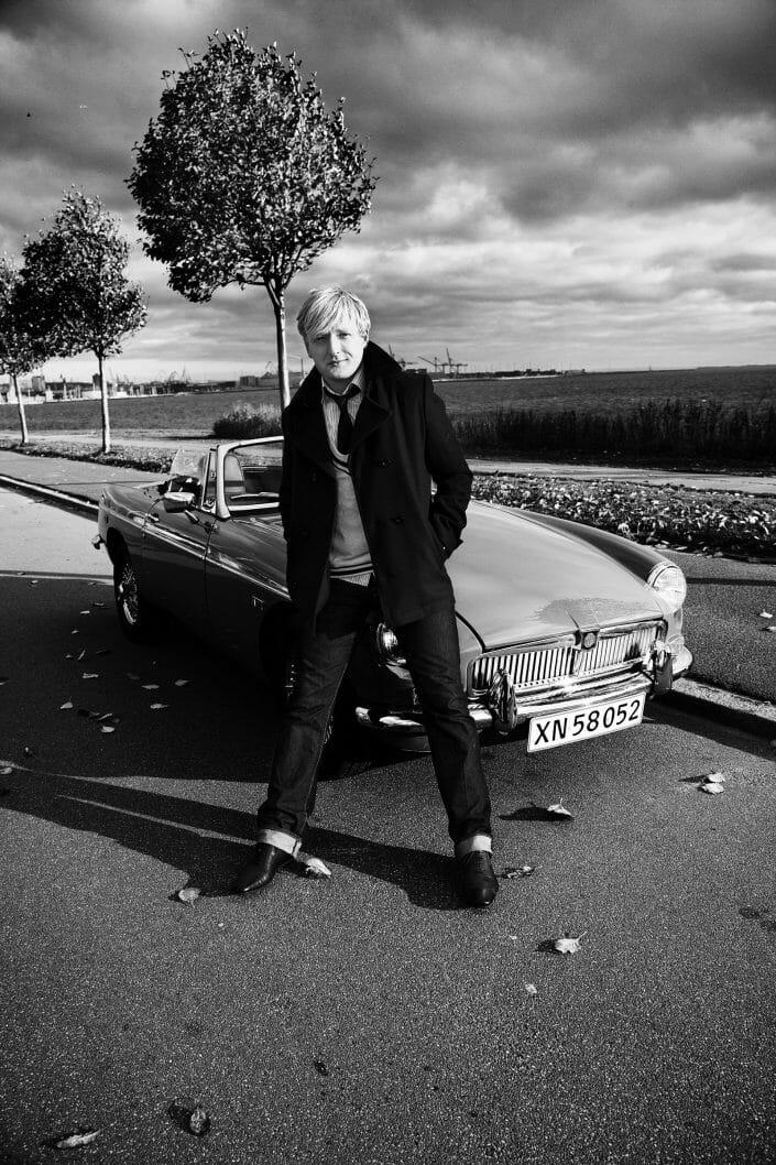 Portrætfoto, skuespiller Martin Greis, ALt for Damerne ©fotograf Ida Schmidt